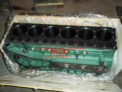 Блок цилиндров двигатель WD615.68 (336 л.с.) H2 HOWO (ХОВО) 61500010383 фото 1 Краснодар