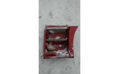 Корпус подножки левый в сборе SH F3000 тягач красный