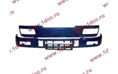Бампер C синий верхний+нижний (в сборе) фото Краснодар