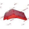Брызговик передней оси правый H2 красный HOWO (ХОВО) WG1642230004 фото 3 Краснодар